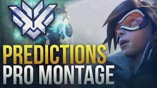 Insane Pro Predictions - Overwatch Montage