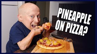 PINEAPPLE ON PIZZA? BEST HOMEMADE HAWAIIAN PIZZA | Cooking with Verne