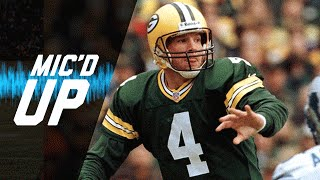 Brett Favre's Best One Liners Mic'd Up | #MicdUpMondays | NFL
