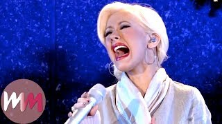 Top 10 Best Christina Aguilera Performances