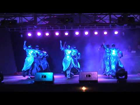 Ministerio de Danza Internacional Kairos (2 Exposición de Pandero y Danza El Salvador)
