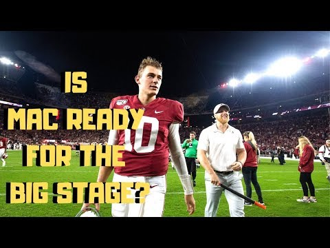 What Should We Expect From Mac Jones in the Iron Bowl?