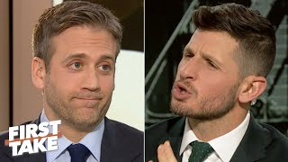 Dan Orlovsky is fed up with Max Kellerman's Carson Wentz criticisms | First Take