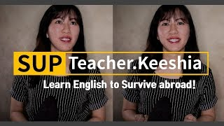 """SUP / Free Match - Learn English to Survive abroad! & Online English Private Tutor """"Keeshia"""""""