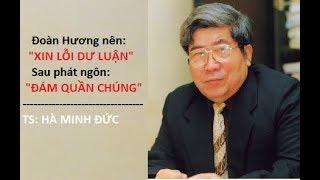 """Thầy của TS Đoàn Hương, không chấp nhận phát ngôn """"đám quần chúng..."""" muốn bà xin lỗi.."""