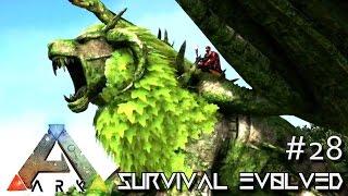 ARK: SURVIVAL EVOLVED - MANTICORE TAME & ALPHA RIOT TRIBESMAN !!! E28 (ARK ANNUNAKI EXTINCTION CORE)
