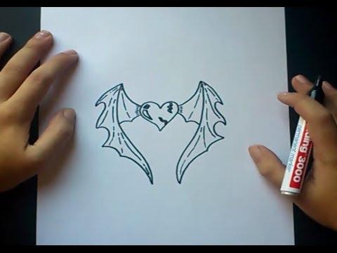 Dibujos de corazones con alas de angel a lapiz - Imagui