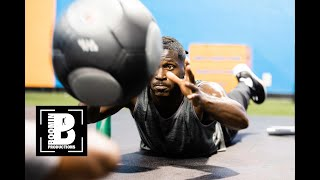 Antonio Brown | Off Season Work Ethic
