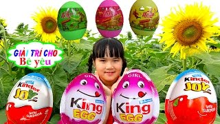 SĂN VÀ BÓC TRỨNG KHỦNG LONG - KINDER - KING by Giai tri cho Be yeu