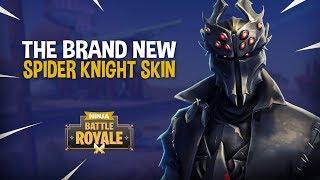 *NEW* Spider Knight Skin!! - Fortnite Battle Royale Gameplay - Ninja