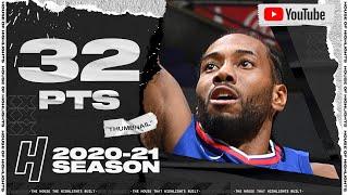 Kawhi Leonard 32 Points Full Highlights vs Kings   January 20, 2021   2020-21 NBA Season