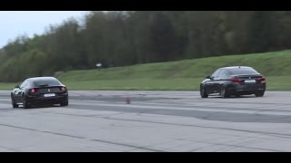 Ferrari FF vs BMW M5 F10