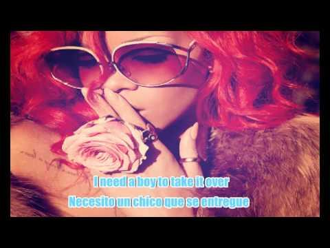 What's my name? Rihanna ft Drake [lyrics+subtítulos en español]