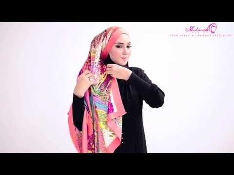 Tutorial : 4 Ways to Style Wide Shawl by MuslimahClothing.com Musica ...