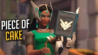 Boosted Symmetra Main Getting Carried for 8 Minutes Straight | Overwatch