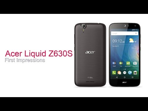 Acer Z630S: First Impressions