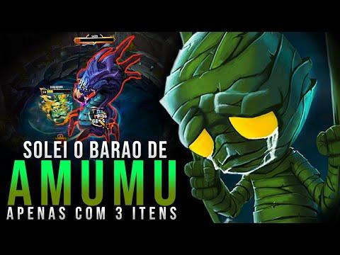 DESCOBRI COMO SOLAR O BARÃO DE AMUMU COM APENAS 3 ITENS, SENSACIONAL!