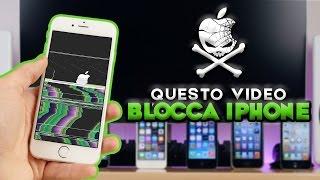 Questo video BLOCCA TUTTI gli iPhone!