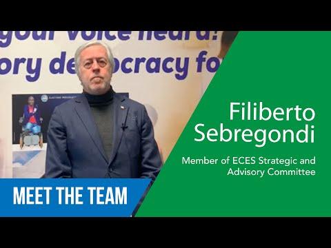 Filiberto Ceriani Sebregondi - Membro Comitato Strategico e Consultivo