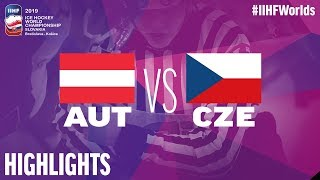Austria vs. Czech Republic - Game Highlights - #IIHFWorlds 2019