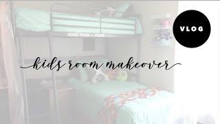 Kids Surprise Room Makeover - VEDA/Vlogust Day 2