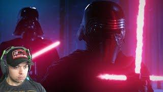 Vader vs Kylo REACTION - Force of Darkness Star Wars Fan Film