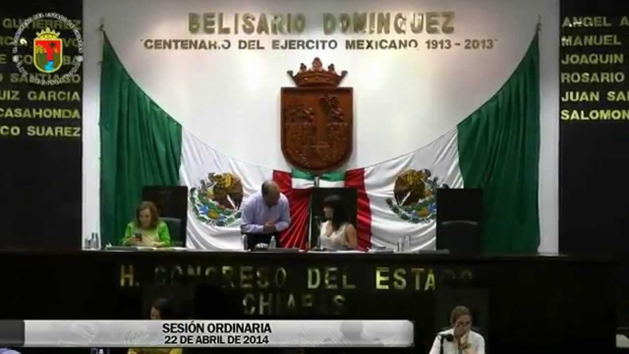 Sesión Ordinaria 22 de Abril de 2014