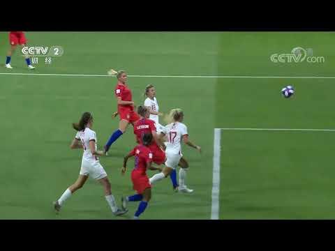 [国际财经报道]女足世界杯:美国2:1英格兰 挺进决赛| CCTV财经