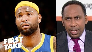 'We don't need him!' - Stephen A. doesn't want DeMarcus Cousins to sign with the Knicks | First Take
