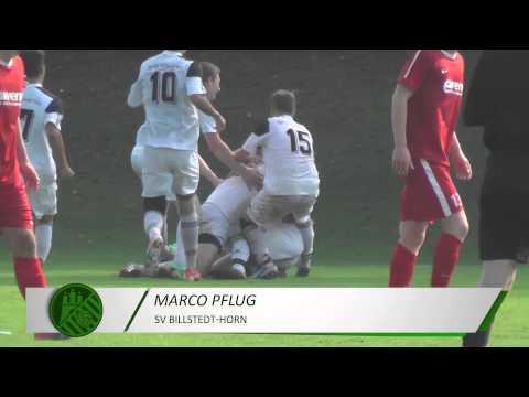 Tor von Marco Pflug (SV Billstedt-Horn) | ELBKICK.TV