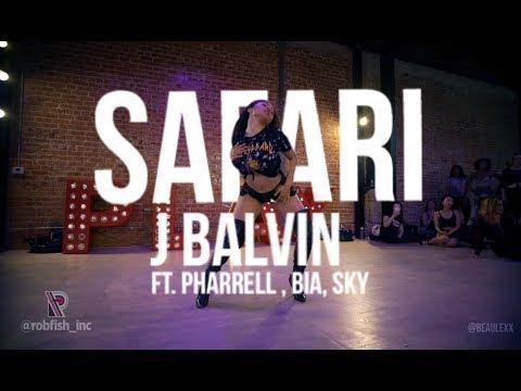 SAFARI J BALVIN   Alexis Beauregard Choreography