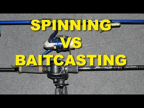 Spinning vs. Baitcasting: When To Use? | Bass Fishing