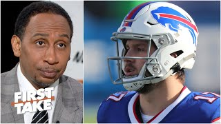 Stephen A. examines what's at stake for Josh Allen in the AFC Championship Game | First Take