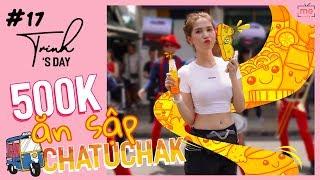 Ngọc Trinh - My Day #17 | Ăn Sập Chatuchak Với 500k (500000 VND) | Bangkok Travel