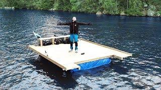Ultimate 15m² BIG Raft Build