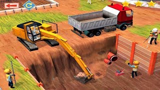Play Digger Game - Little Builders - Digger Truck Cranes Construction Games For Kids Toddlers