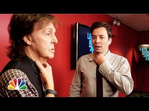 Jimmy Fallon and Paul McCartney Switch Accents (Late Night with Jimmy Fallon)