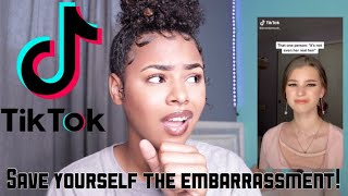 REACTING TO CURLY HAIR TIKTOK VIDEOS... well this is embarrassing
