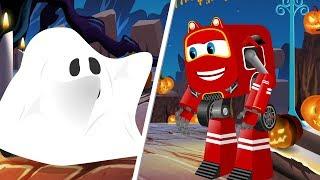 Supercar Baby Rikki vs Friendly Ghost | Halloween Kids Party Songs & Rhymes