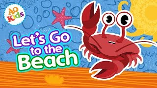 Let's Go to the Beach! | Original Kids Song