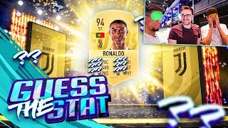 FIFA 19 GUESS THE STAT!!! Fifa 19 Pack Opening Challenge