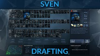 How to draft Sven patch 7.09