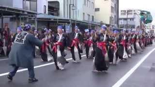 よさこい東海道2013 本祭【本町審査会場】日専連ぬまづ鳴子隊
