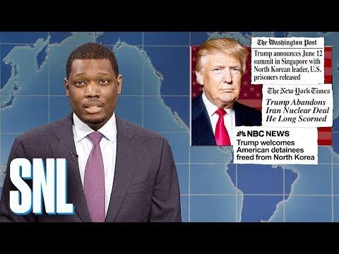 Weekend Update on Trump Securing Release of American Prisoners - SNL