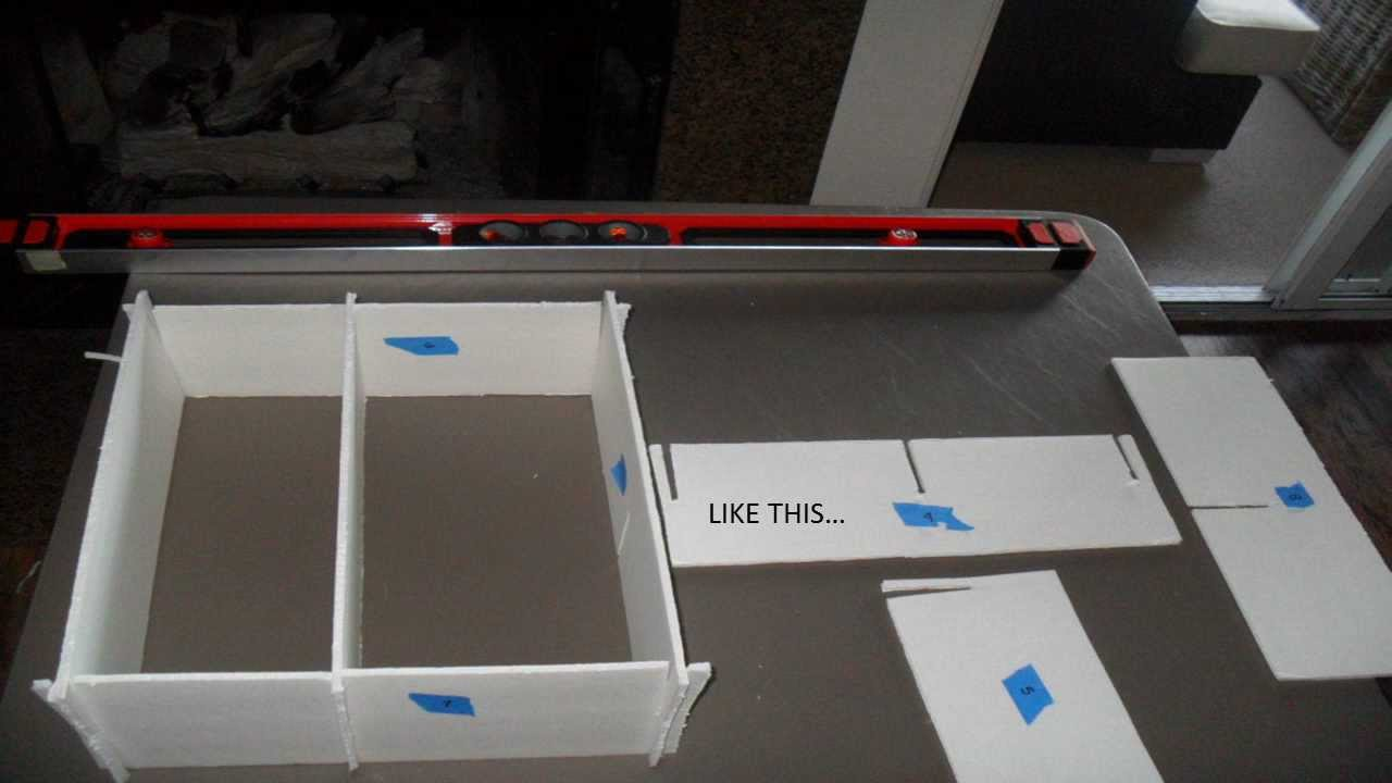 Diy How To Make Custom Drawer Dividers For 1 Youtube