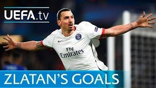 Zlatan Ibrahimović: All of his Paris Saint-Germain goals in the UEFA Champions League