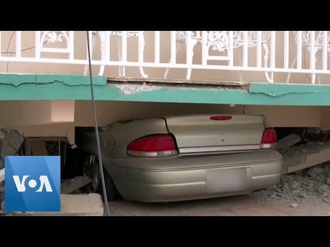 5.8-Magnitude Quake Strikes Puerto Rico, Damaging Homes