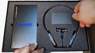 Galaxy Note 8 Flex Bundle Unboxing (Jordan) فتح صندوق جالاكسي نوت ٨ حزمة فليكس (الاردن)