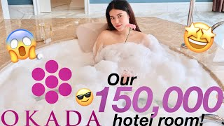 OKADA MANILA, We stayed in a P150,000 hotel room!!! (Philippines)
