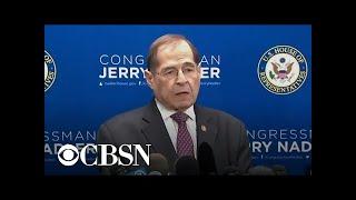 "Rep. Nadler: ""Disturbing evidence"" in Mueller report"